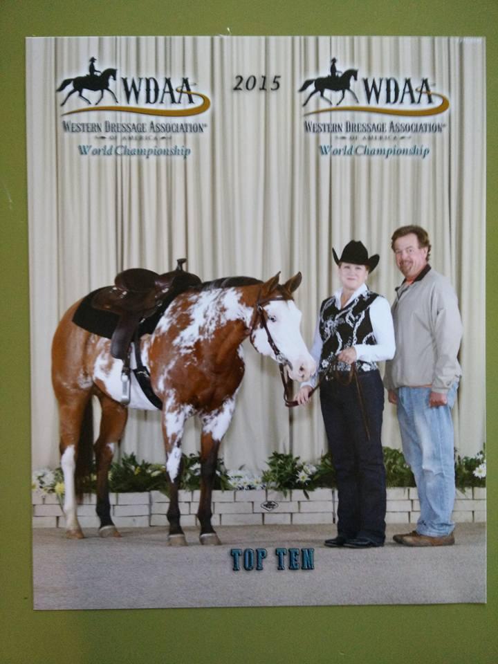 Gold Sponsor Balanced Riding Stables Western Dressage